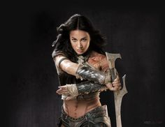 Dejah Thoris... with more cloths on than you might be used to...