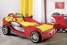 Amazon.co.jp: CiLEK チレキ 車型ジュニアベッド レッド SL Racerシリーズ SLC-1301: ホーム&キッチン