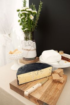 Garden Party Cheese Table