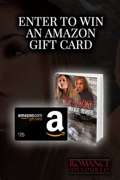 Win a $25, $20 or $15 Amazon Gift Card from Author Nickie Asher #Sweepstakes Ends 4/14.