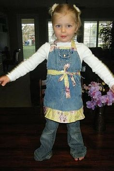 Foundations: Upcycle Tutorial: Turning Overalls into an Apron