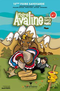 2 et 3 Août 2014 - L'Avaline foire savoyarde