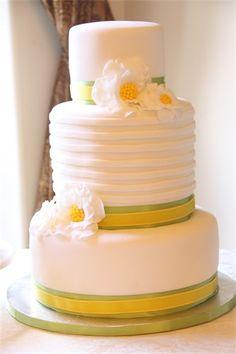 Yellow & Green Cake