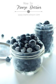 How to Freeze Berries - from @Megan Ward Ward Ward Ward {Country Cleaver}