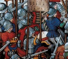 """The marvellous """"mark T"""" from www.myarmoury.com again, citing this from Trait de la forme at devis comme on fait les tournois, by Rene de Anjou, as reprinted on p. 41 of The book of the medieval knight, Stephen Turnbull (London: Arms and Armour Press, 1995)."""