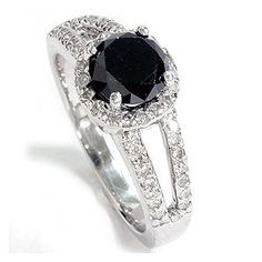 I want a black diamond ring, of course I would take anything.