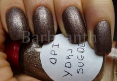 You Don´t Know Me Jacques Suede OPI