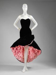 Balenciaga evening dress from 1951