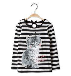 Sklep internetowy C&A | T-shirt, kolor:  czarny / biały | Dobra jakość w niskiej cenie