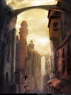 Oriental street by ~MaxAntonov