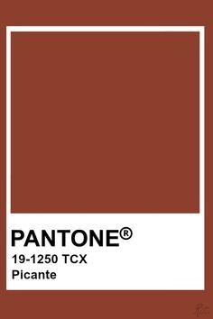 Pantone Picante Pantone Swatches, Color Swatches, Pantone Colour Palettes, Pantone Color, Colour Pallete, Colour Schemes, Pantone Orange, Color Plan, Paint Colors For Home