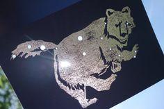 Ursa Major the Great Bear Shadow Zodiac Constellations by ddots, $5.00