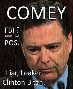 Comey is a criminal. He broke the law when he chose not to charge Hillary, for leaking classified memos, and for lying to lawmakers. ~ RADICAL Rational Americans Defending Individual Choice And Liberty Political Ads, James Comey, Susa, Hard Truth, It Goes On, We The People, Stupid People, God Bless America, Fake News