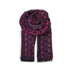 Becksondergaard Moscow scarf in fuchsia