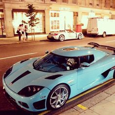 The majestic Koenigsegg CCXR