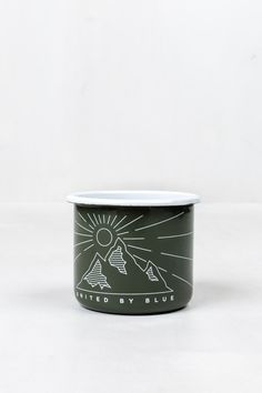 Wilderness Enamel Steel Mug | United By Blue