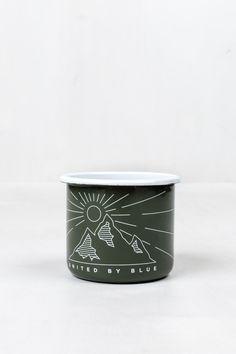Wilderness Enamel Steel Mug   United By Blue