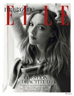 Amanda Seyfried stars in ELLE Spain's July issue