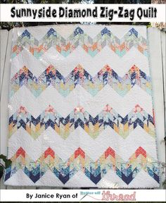 Mountain Quilt Pattern Misty Mountain Quilt Pattern - love the fabrics used does look like misty mountain tops.Misty Mountain Quilt Pattern - love the fabrics used does look like misty mountain tops. Jellyroll Quilts, Lap Quilts, Quilt Blocks, Small Quilts, Quilting Tutorials, Quilting Projects, Quilting Designs, Quilting Ideas, Sewing Projects