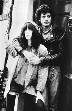 Patti Smith & Robert Mapplethorpe, NYC 1977