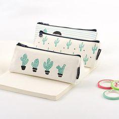 Cactus Lacklustre Transparent Pvc A5 Folder File Archive Bag Stationery Bags Filing Products File Folder