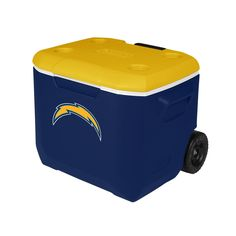 Coleman Company NFL San Diego Chargers Performance Cooler, 60 quart, Blue/Yellow *** See this awesome image  : Camping equipment