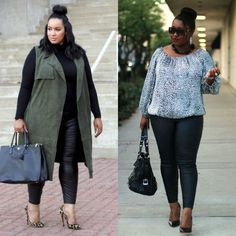 Plus Size Outfits with Leggings Ideas
