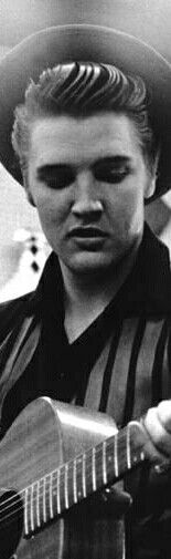 Elvis with natural blonde hair color