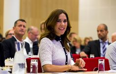 Queens & Princesses - Princess Mary attended a conference organized by the Foundation for Mental Health, which was held in Copenhagen.