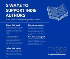 Book Memes, What You Can Do, 5 Ways, Indie, Writer, Author, Content, Books, Livros