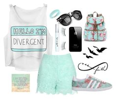"""""""Hello I'm Divergent!"""" by apcquintela ❤ liked on Polyvore"""