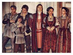 Auditore Family. Frederico, petruccio, Ezio, Giovanni, Maria, Claudia