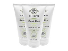 Chief's Energizing Face Wash on Packaging of the World - Creative Package Design Gallery