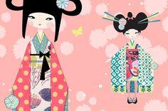 Dolls  Kokeshis - ▲▲▲ izumi idoia zubia ▲▲▲