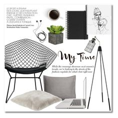 """My Time"" by galina-gavrailova ❤ liked on Polyvore featuring interior, interiors, interior design, home, home decor, interior decorating, Moe's Home Collection, Muji, H&M and Diane Von Furstenberg"