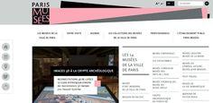 paris musées nouveau site web