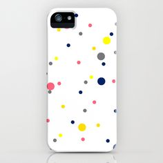 Polka Dot Happiness iPhone & iPod Case