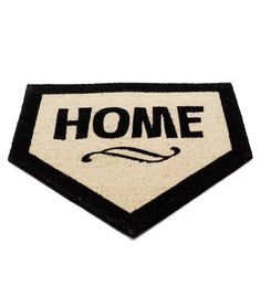 Home Plate.for home! Cute for porch decor during baseball season :). you can get it at Uncommon Goods Williams Sonoma, Baseball Mom, Football, Baseball Season, Baseball Stuff, Baseball Party, Baseball Puns, Baseball Players, Baseball Coaches