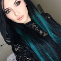 30 Teal Hair Dye Shades and Looks with Tips for Going Teal - Part 6 Teal Hair Dye, Hair Dye Shades, Teal Hair Color, Hair Color For Fair Skin, Turquoise Hair, Hair Dye Colors, Hair Color For Black Hair, Green Hair, Dyed Hair