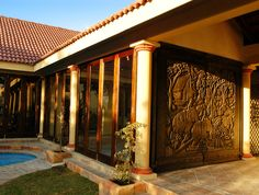 Chapela Lapa « Midrand Conference Centre Decor, Outdoor Decor, Garage Doors, Home Decor, Doors