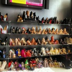 Let loose in a stiletto candy store