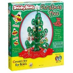 Shrinky Dinks Christmas Tree