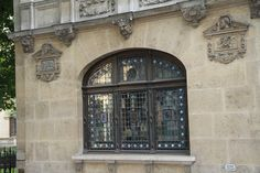 Beautiful Stained Glass and Leaded Window Paris by nancyhehmann, $30.00
