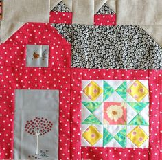 dream quilt create: The Quilty Barn Along, Summer Star