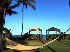 Four Seasons Resort Maui at Wailea Maui, Hawaii Two people can fit on this hammock on the Oceanfront Lawn at the Four Seasons Resort Maui at Wailea. It's a popular spot for couples, though that shouldn't discourage you if you're alone—it's a great place to catch Maui's waves hit Wailea point. Life is a Hammock