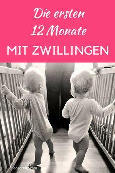 Die ersten 12 Monate mit Zwillingen: Wie war das bei uns? #Zwillinge #dasersteJahr #Zwillingseltern Kids And Parenting, Gemini, Twins, Pregnancy, Kids Rugs, Raising Twins, Newborn Twins, Pregnancy Twins, Pregnant With Twins
