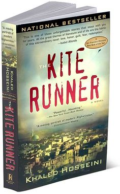 The Kite Runner by Khaled Hosseini. Great book!!