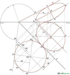Mathematics Images, Dibujo, Technical Drawings, Vanishing Point, Drawing Techniques, Architecture, Geometry