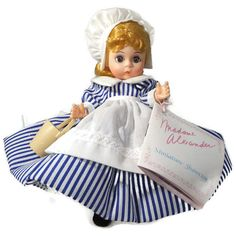 "❤¤ Madame Alexander Doll - Little Maid 423, Storyland Series, 8"" tall, Original http://etsy.me/2eQqAri"