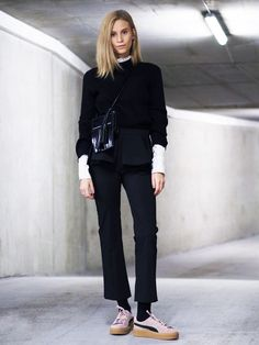 """I'm not sorry that I LUV this look! Those creepers tho!!!! """"10 Insanely Cool Outfits You Can Actually Pull Off"""" via @WhoWhatWear"""